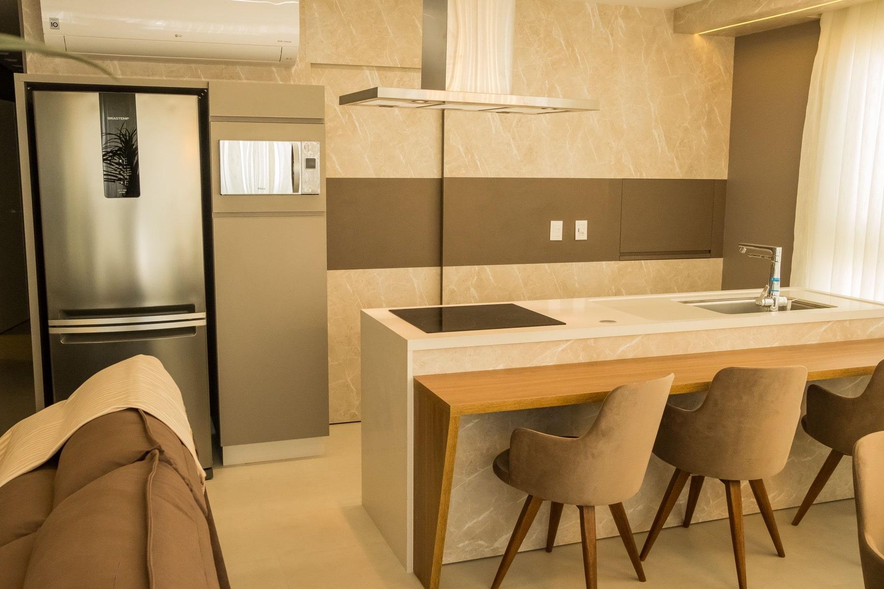 Cozinha Integrada Fontana